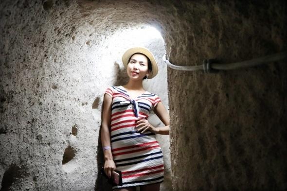 Kırkgöz Yeraltı Şehri ziyaretçilerini büyülüyor 1