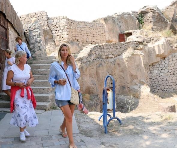 Kırkgöz Yeraltı Şehri ziyaretçilerini büyülüyor 12