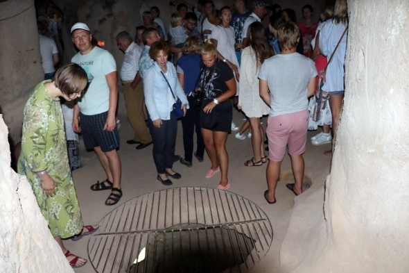 Kırkgöz Yeraltı Şehri ziyaretçilerini büyülüyor 7