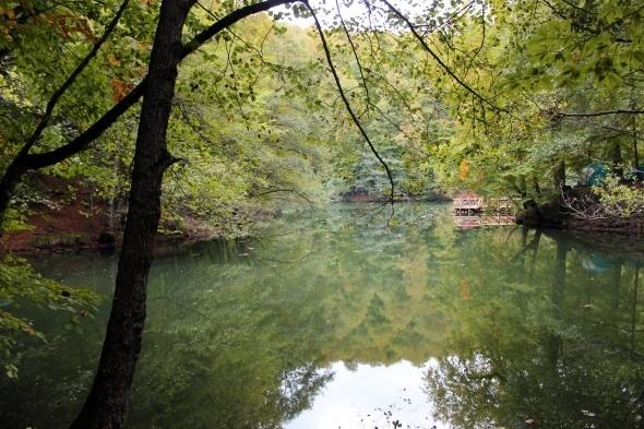 Yedigöller'de sonbahar manzarası hayran bırakıyor 2
