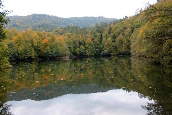 Yedigöller'de sonbahar manzarası hayran bırakıyor 5