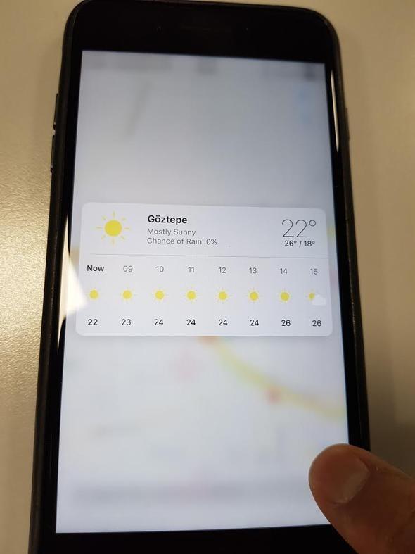 iPhone'larda yeni dönem başladı, tuşlar değişti 7