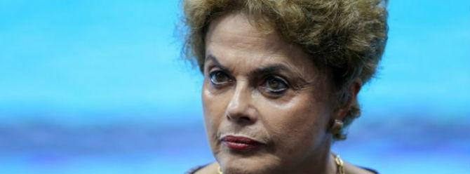 Brezilya Devlet Başkanı Rousseff'in görevden azlinin önü açıldı