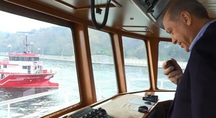 Cumhurbaşkanı Erdoğan, balıkçı teknesiyle denize açıldı haberi