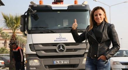 Rock'çı değil çöp kamyonu şoförü