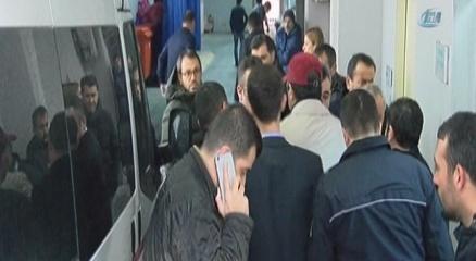 Erdal Tosun'un cenazesi hastaneden alındı