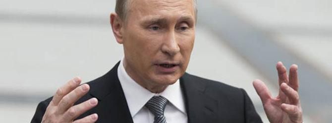 Putin, Türkiye ve Suriye sınırının kapatılması gerektiğini söyledi