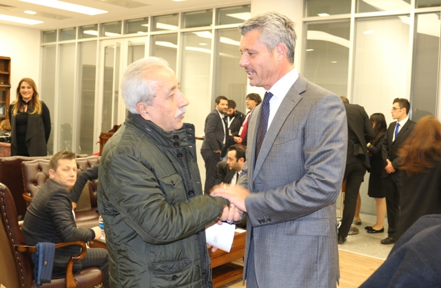 Çetin'den Saran'a hemşeri desteği