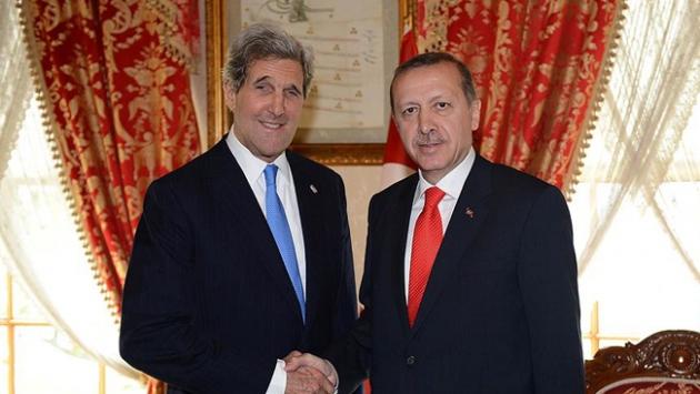Cumhurbaşkanı Erdoğan, John Kerry ile görüşecek
