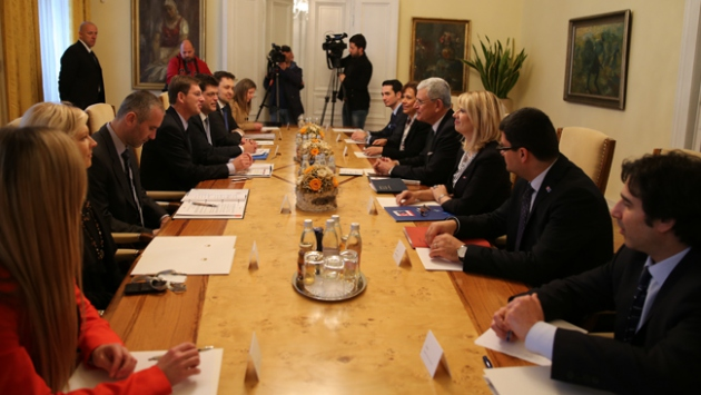 AB Bakanı Volkan Bozkır Slovenya'da