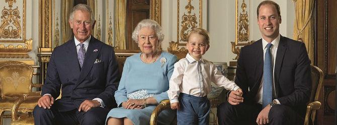 Kraliyet pulunda Prens George'a takoz desteği