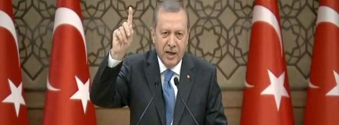 Erdoğan: 'Çöktük, battık' diyorlar. Telsiz dinlemeleri bunlar