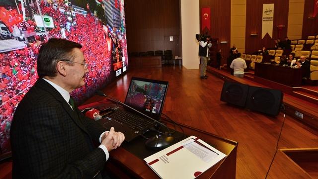 Ankara'da 4 kişi hedefti