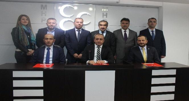 MHP Ankara İl Başkanı Çetinkaya, Trafik Çalıştayı'nın sonuç bildirgesini açıklandı