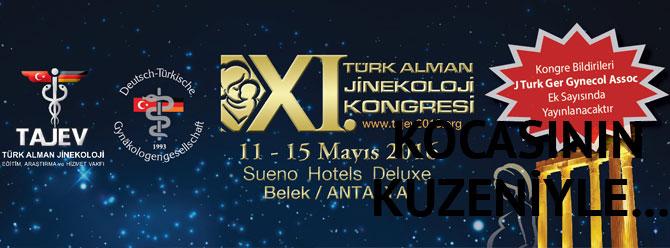 Jinekoloji dünyası Antalya'da bir araya geliyor
