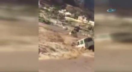 Aracıyla birlikte suya gömüldü haberi