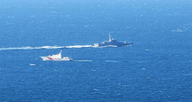 Yunan sahil güvenlik Türk kara sularını ihlal etti