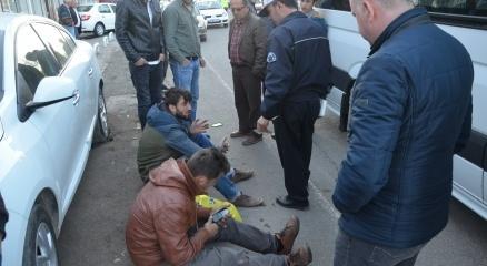 Fatsa'da motosiklet kazası: 2 yaralı haberi