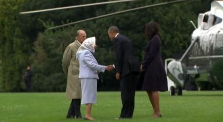 Obama, Kraliçe'nin 90. doğum günü için İngiltere'de haberi
