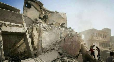 Suriye'de hava saldırısı: 10 ölü haberi
