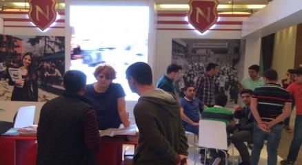 Nişantaşı Üniversitesi Mardin Eket Eğitim Fuarına katıldı haberi