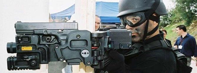 Türk mühendisler köşe dönen silahı üretmeti başardı