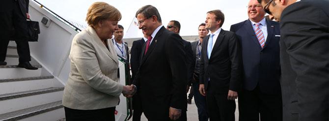 Almanya Başbakanı Merkel Gaziantep'te