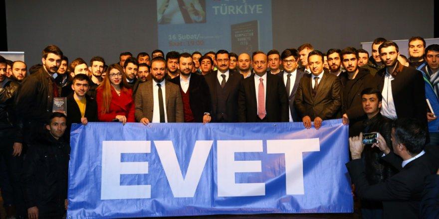 Yalçın Akdoğan yeni Anayasayı anlattı