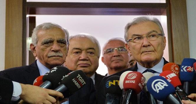 Baykal-Türk görüşmesi