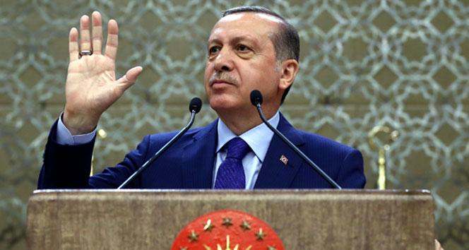 Erdoğan: 'Suriye'de bir terörist iş başında'