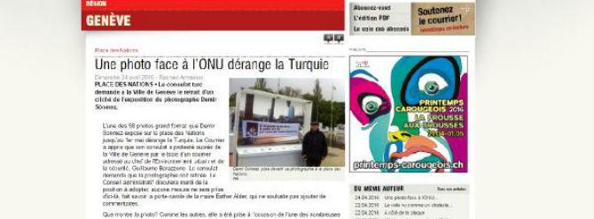 Sergideki Berkin Elvan fotoğrafına Türkiye'den itiraz