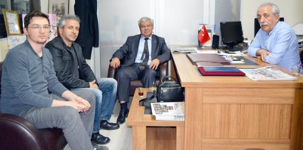Yerel Gazeteciler ve Yazarlar Derneği gazetemizi ziyaret etti