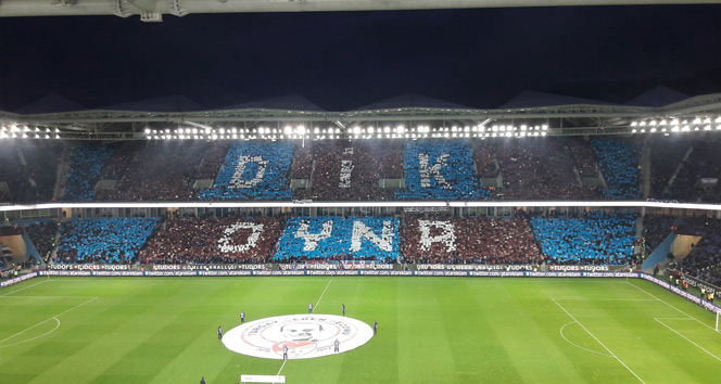 Trabzonspor taraftarı Galatasaray maçında rekor kırdı