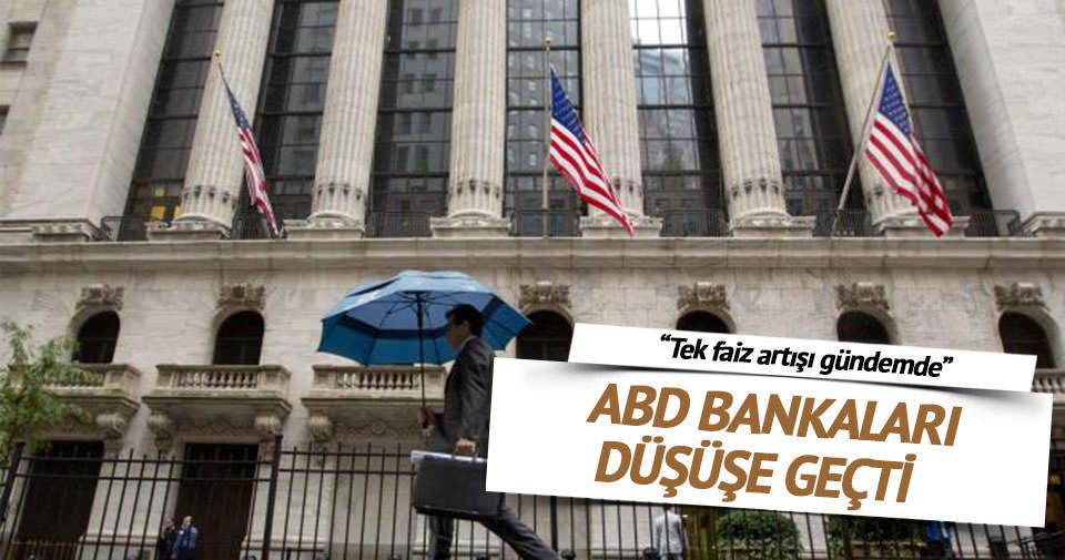 'ABD'li bankaların karı düşük kaldı'