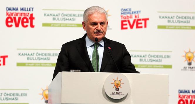 Başbakan Yıldırım'dan Abdullah Gül ve Davutoğlu yorumu