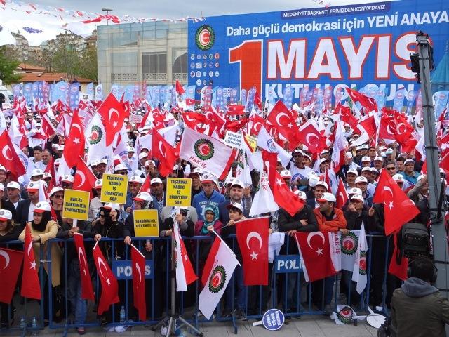 Ankara'da 1 Mayıs'ın adresi: Kolej Meydanı