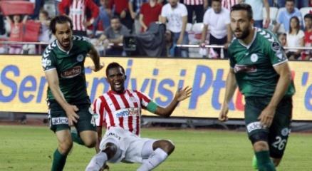 Eto'o Antalyaspor'u sırtladı: 1-0