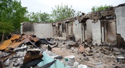 Ermenistan'ın açtığı ateş sonucu evler de kullanılamaz hale geldi