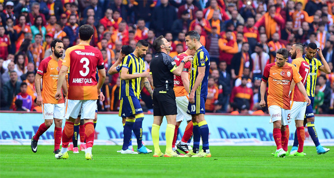 Galatasaray Fenerbahçe 0-1 maç özeti