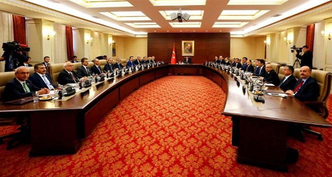 Erdoğan başkanlığındaki Bakanlar Kurulu başladı