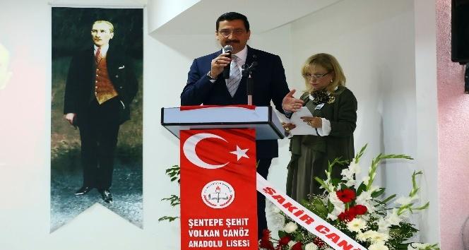 15 Temmuz şehidi Volkan Canöz'ün ismi okuduğu okula verildi