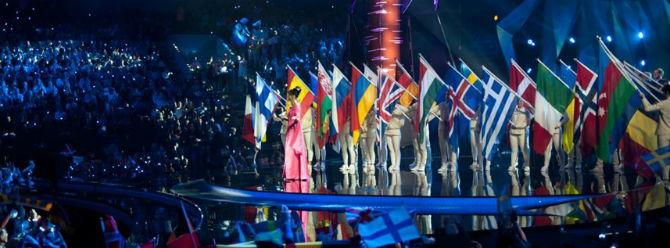 Eurovision şarkı yarışmasında bayrak krizi