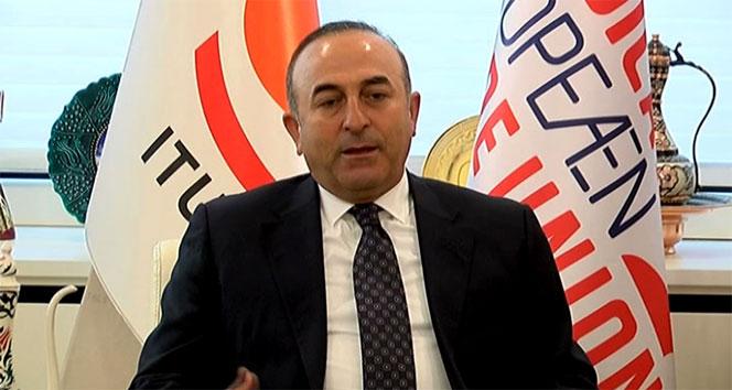 Bakan Çavuşoğlu: 'Mayıs ayında sınırda konuşlandırılacak'