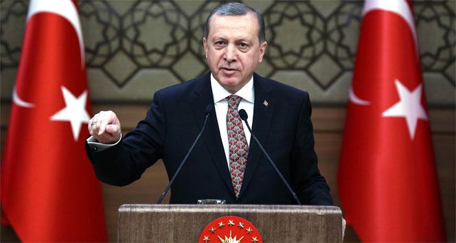 Cumhurbaşkanı muhtarlar toplantısında konuştu