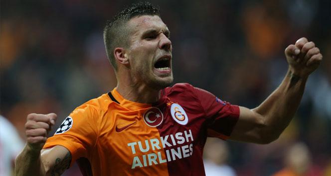 Podolski, Galatasaray'da son maçına çıkıyor