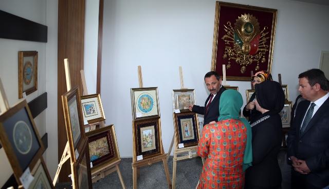 Türk İslam sanatları sergisi açıldı
