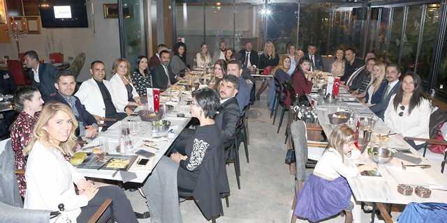 Bölge işadamları İÇGİAF'ın yemeğinde buluştu