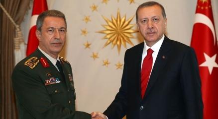 Erdoğan, Orgeneral Akar'ı kabul edecek