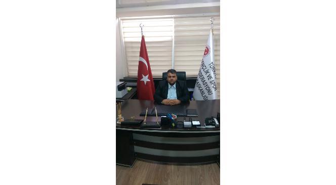 Mustafa Topal Gençlik Ve Spor Konfederasyonu Uludere İlçe Başkanı Oldu