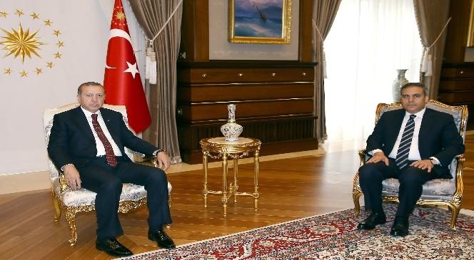 Cumhurbaşkanı Erdoğan Mit Müsteşarı Fidan'ı Kabul Etti